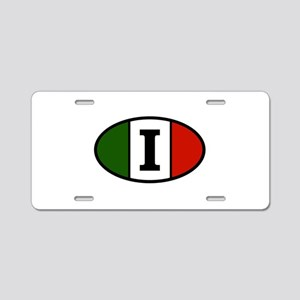 italy-i Aluminum License Plate