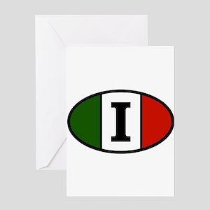 italy-i Greeting Card