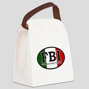 FBI Canvas Lunch Bag