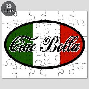 ciao-bella-OVAL2 Puzzle