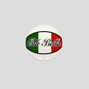 ciao-bella-OVAL2 Mini Button
