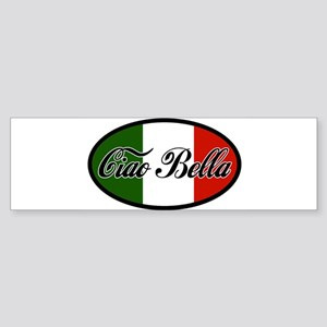 ciao-bella-OVAL2 Sticker (Bumper)