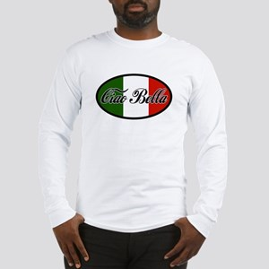ciao-bella-OVAL2 Long Sleeve T-Shirt