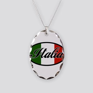 italia-OVAL Necklace Oval Charm