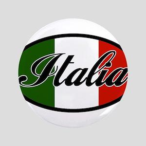 """italia-OVAL 3.5"""" Button"""