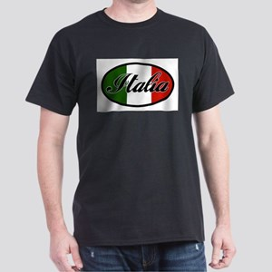 italia-OVAL Dark T-Shirt