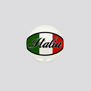 italia-OVAL Mini Button