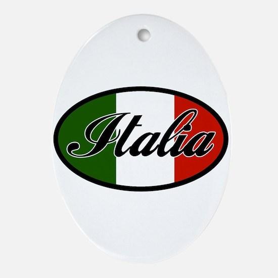 italia-OVAL.png Ornament (Oval)
