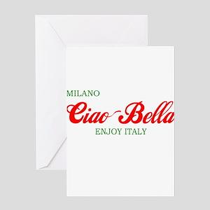 ciaobella-milano-c Greeting Card