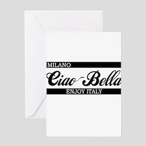 b-ciaobella-milano-b Greeting Card