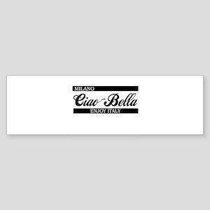b-ciaobella-milano-b Sticker (Bumper)