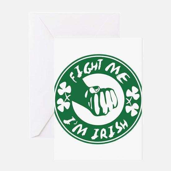 fightme-irish.png Greeting Card