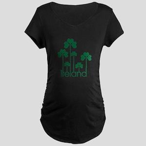 new-ireland-g Maternity Dark T-Shirt