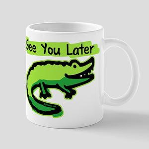 See You Later Alligator Large Mugs