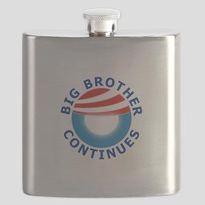Big Brother OBAMA Flask