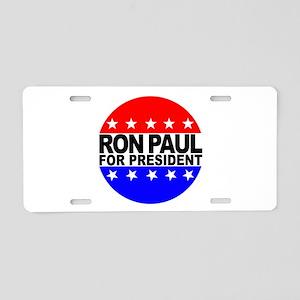 Ron Paul Aluminum License Plate