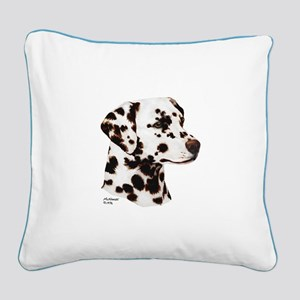 Dalmatian Square Canvas Pillow