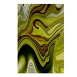 Beautiful Art Abstract Postcards (Package of 8)