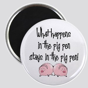 What happens with pigs ... Magnet