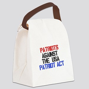 patriotact-w Canvas Lunch Bag