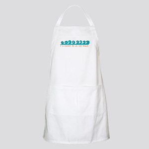 I'd rather be at the beach BBQ Apron