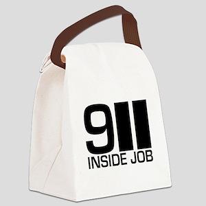 911-inside-w Canvas Lunch Bag