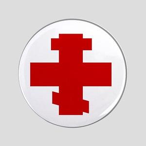 "russian-cross-w 3.5"" Button"