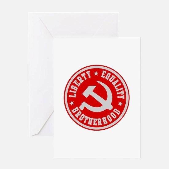 Unique Communist Greeting Card
