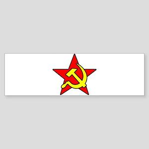 soviet-symbol-w Sticker (Bumper)