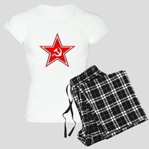 soviet-star-white-w Women's Light Pajamas