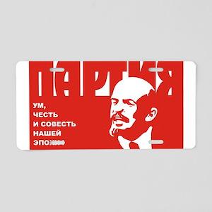 plakat_002 Aluminum License Plate