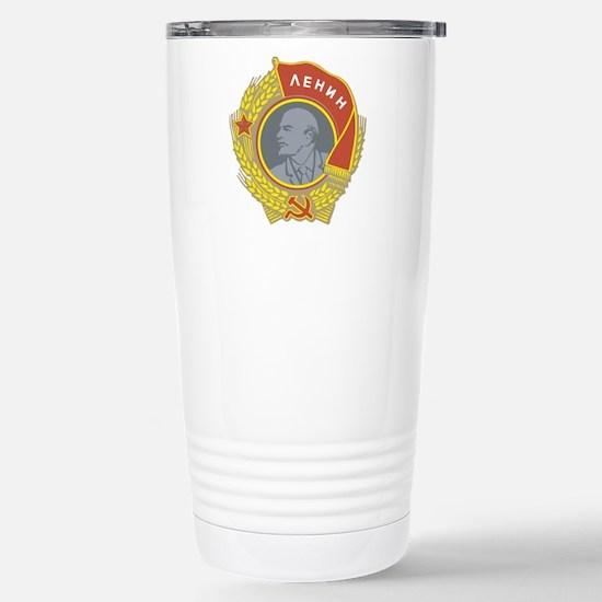 Lenin.png Stainless Steel Travel Mug