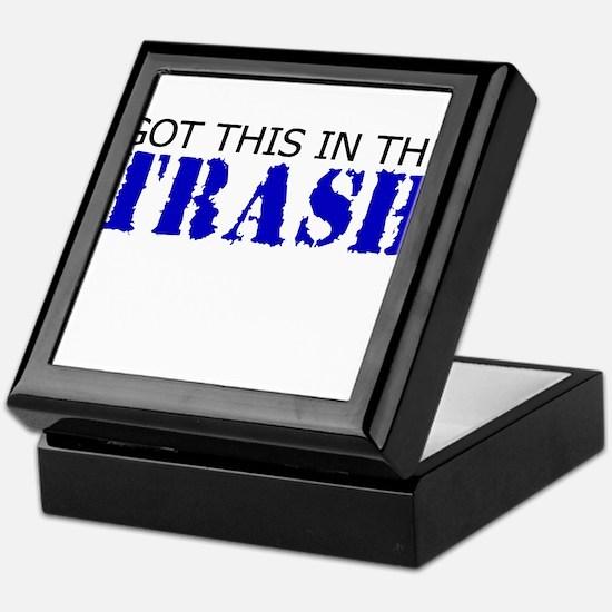 Got this in the Trash Keepsake Box