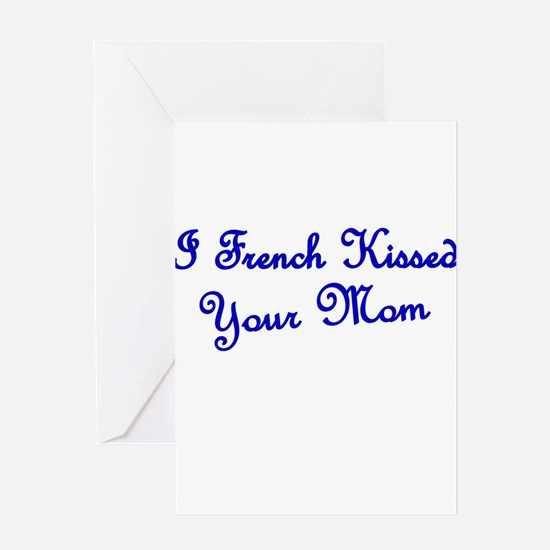 Cute Sexy french woman Greeting Card