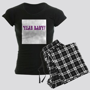 Yeah Baby! Women's Dark Pajamas