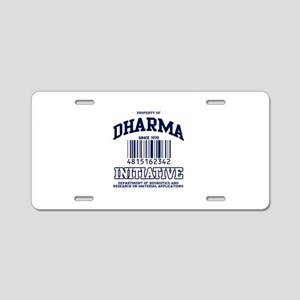 dharma-gear-w Aluminum License Plate