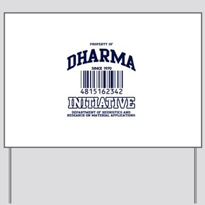 dharma-gear-w Yard Sign