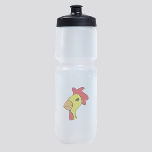 mr-cluck1 Sports Bottle