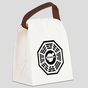 3-dharma-karma Canvas Lunch Bag
