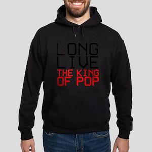 King of Pop Hoodie (dark)