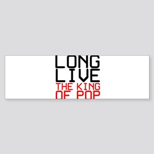 King of Pop Sticker (Bumper)