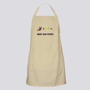 Football and Beer Apron