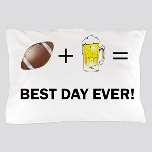 Football and Beer Pillow Case