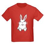 Pocket Easter Bunny Kids Dark T-Shirt