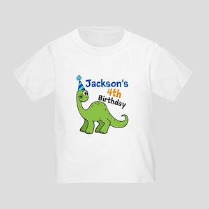 Dinosaur Birthday Toddler T-Shirt