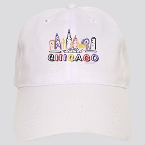 Cute Chicago Skyline Cap