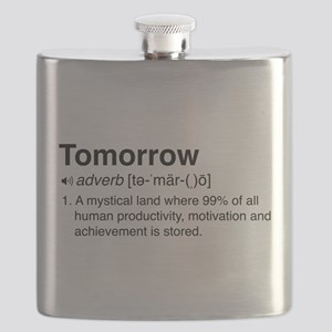 Tomorrow Definition Flask