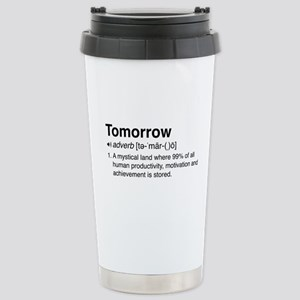 Tomorrow Definition Travel Mug