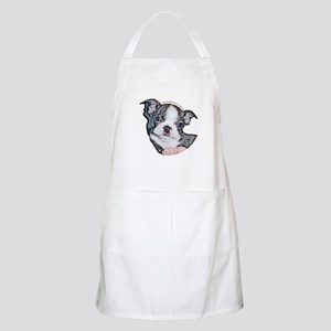 Boston Terrier Puppy BBQ Apron