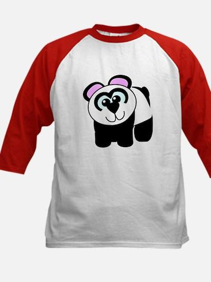 Cute Goofkins Little Panda Bear Kids Baseball Jers